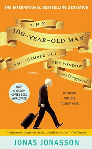 The 100-Year-Old Man Who Climbed Out the Window and Disappeared by Jonas Jonasson http://www.amazon.com/dp/B007MB5OCE/ref=cm_sw_r_pi_dp_jyCNvb0CSS8J3