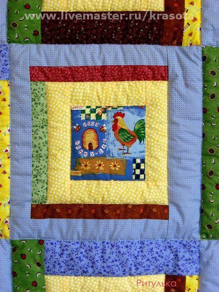 Пледы и одеяла ручной работы. Ярмарка Мастеров - ручная работа. Купить голубое детское одеяло. Авторская работа. Handmade. Квилт