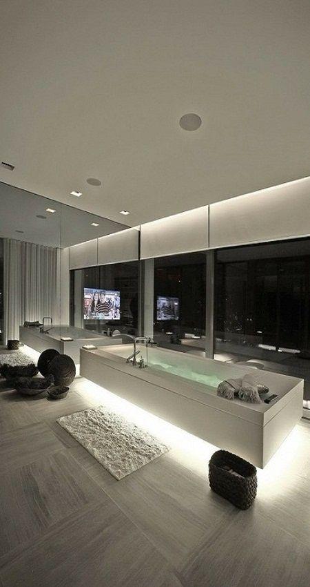 Bathrooms - Underlighting - Modern - Interior Design