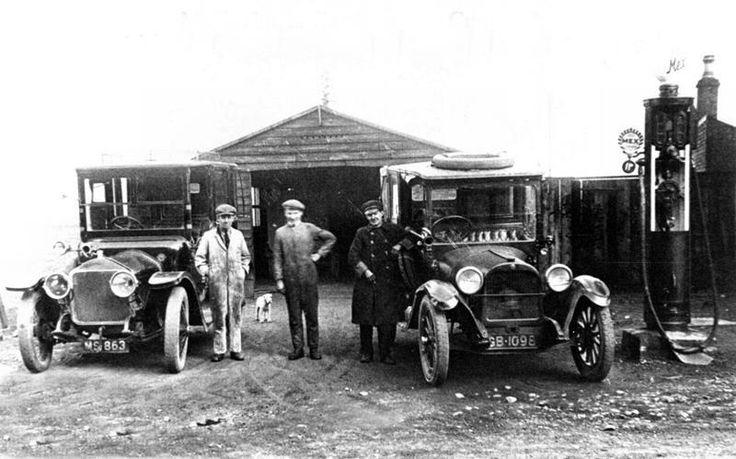 McKechnie's Garage, New Cumnock - 1918