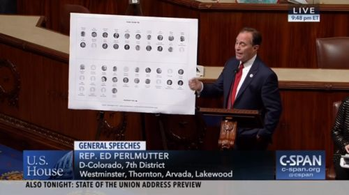 Who: Rep. Ed Perlmutter (D-Colorado) Twitter:...