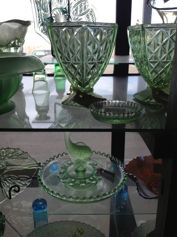 There is a huge range of glassware at all three Mill Markets - Ballarat, Daylesford & Geelong (from Stall #210 Geelong)
