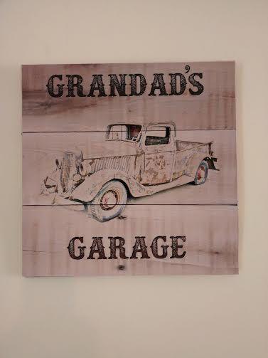 Grandad's Garage  Garage Sign  Wooden Plaque by KimballKreations