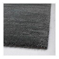 """ÅDUM Rug, high pile, dark gray - dark gray - 4 ' 4 """"x6 ' 5 """" - IKEA"""