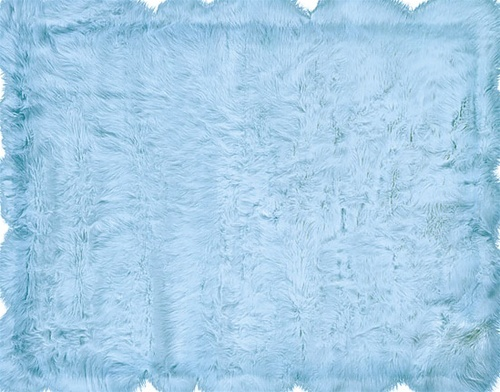 safavieh faux sheepskin rug grey fur 4x6 blue streaks kmart