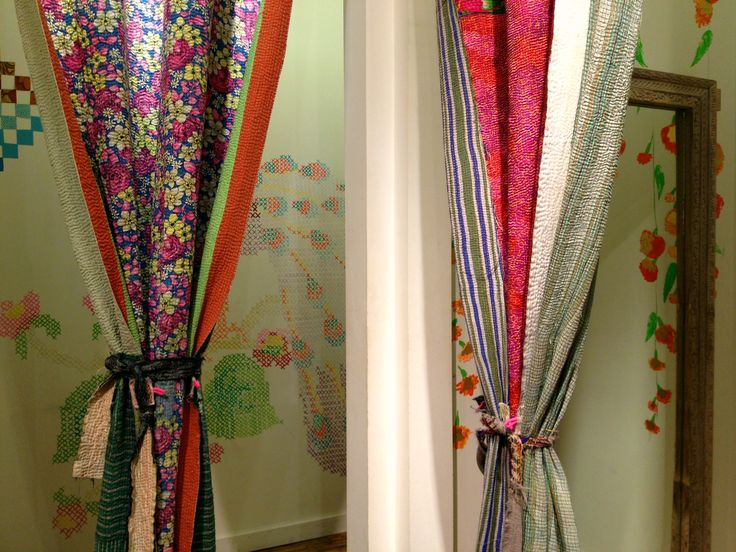 kantha curtains