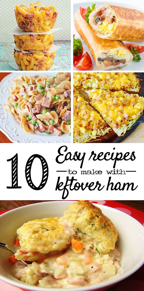 10 Recipes to make with leftover Easter ham - Savvy Sassy Moms