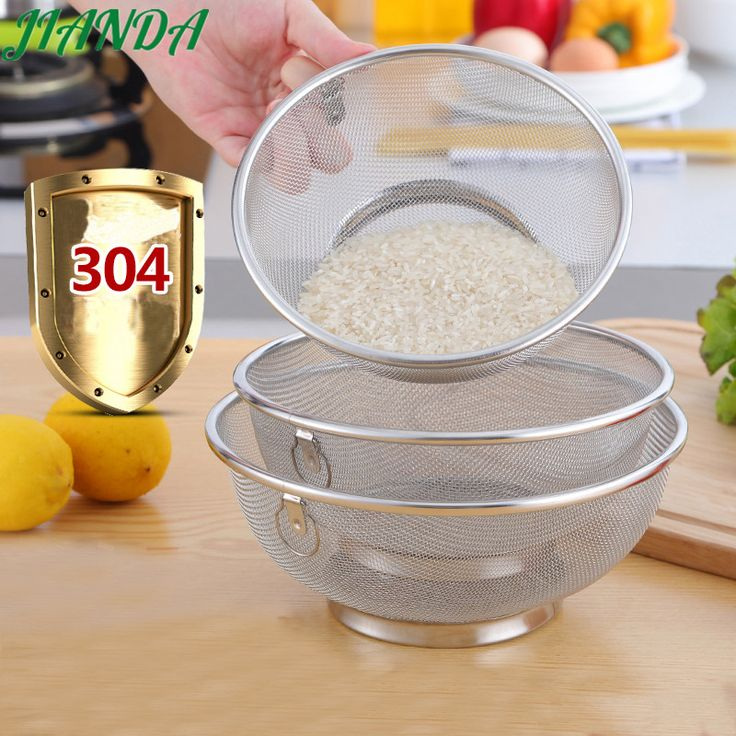 Cheap steel strainer, Buy Quality stainless steel strainer directly from China kitchen drain Suppliers: JIANDA Stainless Steel Strainers Kitchen Draining Basket Fruit Vegetable Washing Colanders Leakage Basin Bowl Wash Fruit Basket