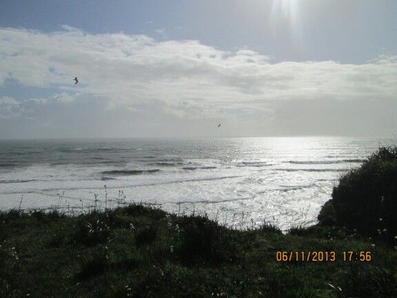 Atardecer en playa Puaucho
