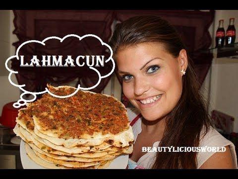 Türkisch kochen:♥♥♥ Lahmacun♥♥♥(Türkische Pizza) - YouTube