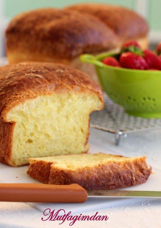 Yogurmadan Brioche (Fransiz Ekmegi)- No knead Brioche from mutfagimdan.com