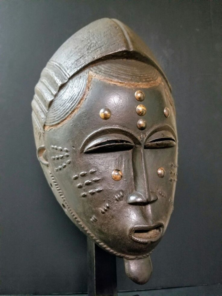 One the most important, Baule Mask, ivory coast.