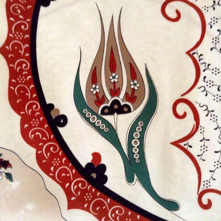 Ottoman tulip motif