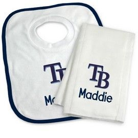 79 best for our grandbabies images on pinterest big kids tampa bay rays personalized bib and burp cloth gift set tampa bay rays at personalized gifts for babies and big kids at designs by chad and negle Images