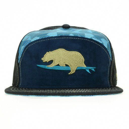 d76a5b3681bc0 GRC Surf Bear Blue 6 Panel Fitted  surfingexercise