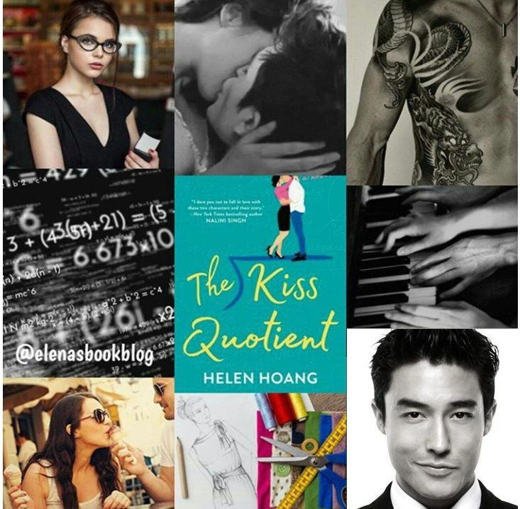 The Kiss Quotient by Helen Hoang | Reading romance, Book boyfriends, Romance books