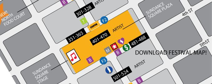 Fort Worth: Main Street Arts Fest great event Sundance Square free and free parking in garage April 10-12