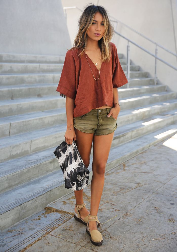 Can't get enough of this chica's style// Sincerely Jules in Free People.