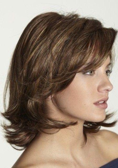 Layered Haarschnitte Für Mittellanges Haar Haare Pinterest