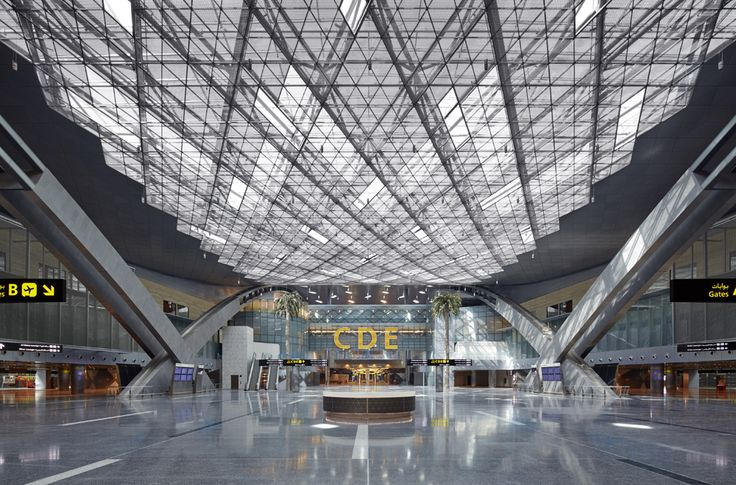 "Hamad International Airport Passenger Terminal | Doha, Qatar | ""We will not compromise on quality. We will not compromise on standards. I think when you put everything together, there will be no other airport of such a high standard,"" said Qatar Airways CEO Akbar Al Baker."