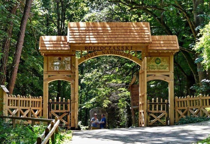 Roztoczański Park Narodowy- wejście