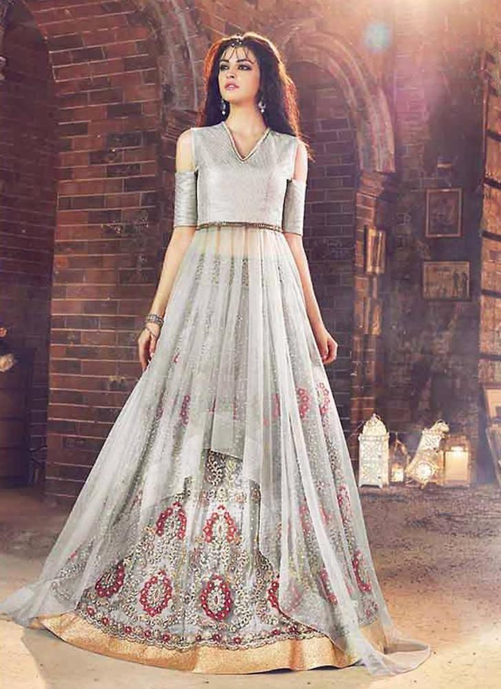 Anarkali New Kameez Indian Bollywood Pakistani Designer Ethnic Dress Salwar Suit #KriyaCreation