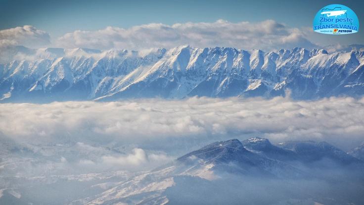 Piatra Craiului Mountains - Romania  http://www.zborpestetransilvania.ro/jurnal-de-zbor-februarie/