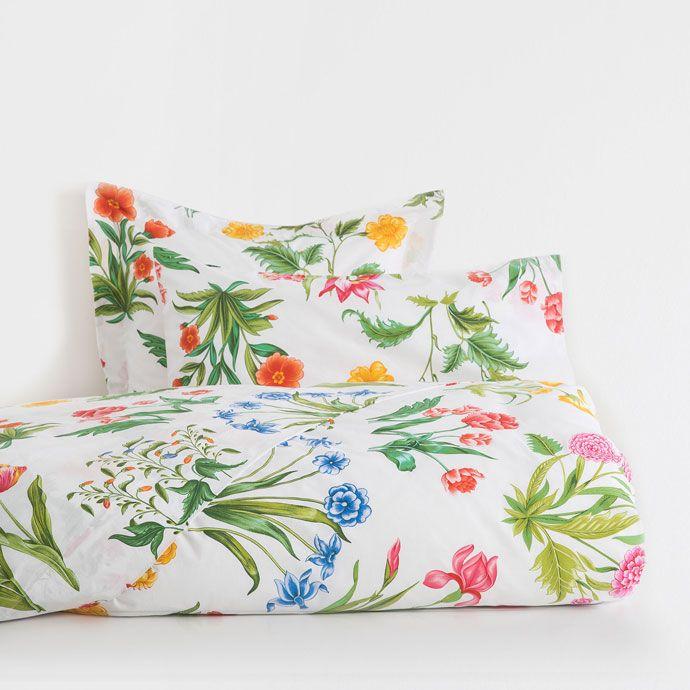 Multicoloured Floral Duvet Cover - DUVET COVERS - BEDROOM | Zara Home United States of America