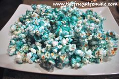 Jello Popcorn - The Frugal Female. I've tried lime, lemon, mango, jolly rancher, peach, orange, watermelon and grape and they were all tasty.