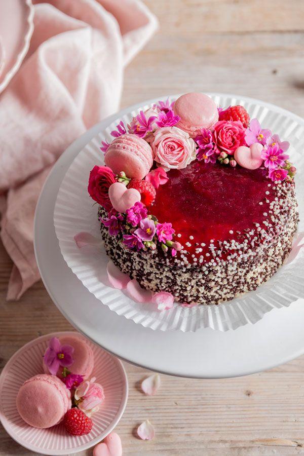 Diese Torte Macht Jede Mutter Happy Muttertagskuchen Lebensmittel Essen Kochen Und Backen