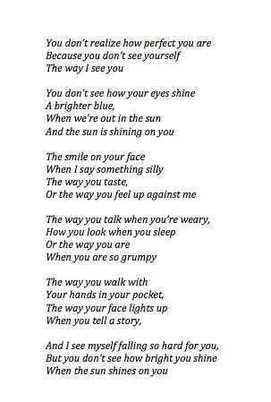 you don t how you are quote quotes poem