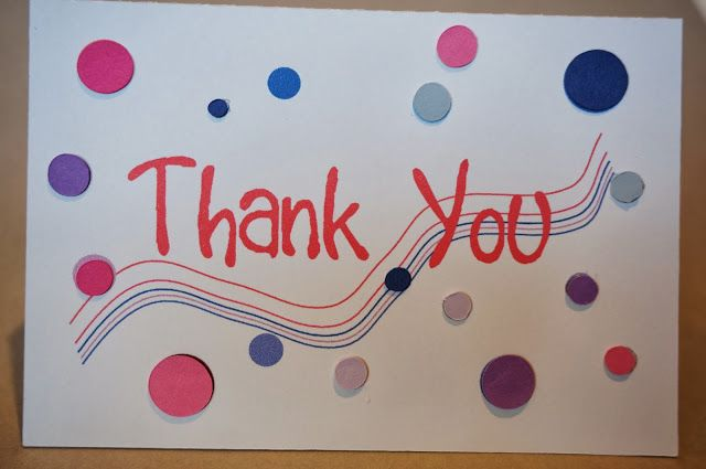 The Importance of Thank You Cards With free Silhouette Studio File