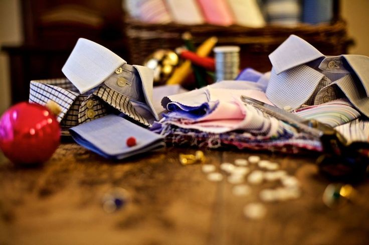 """""""On the Fourth day of Christmas my true love sent to me Four Bespoke Shirts...""""  When the birds come a-calling, you'll want to look your best - in one of our bespoke shirts, made by Gino Venturini of Vienna. Comfortable, confident and stylish!"""