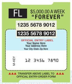 PCH Winning Number Notification Plan Label