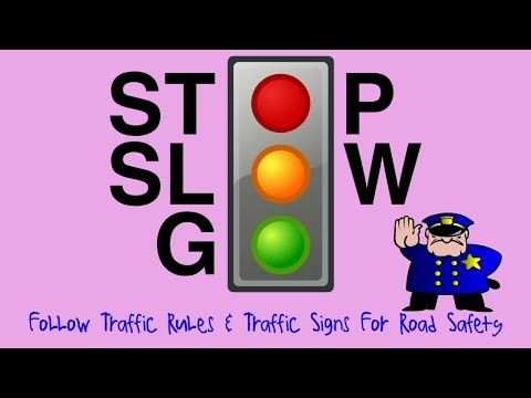 Kids Learning Videos: Learn Traffic Rules, Traffic Signs Tips For Road Safety – Kidska TV