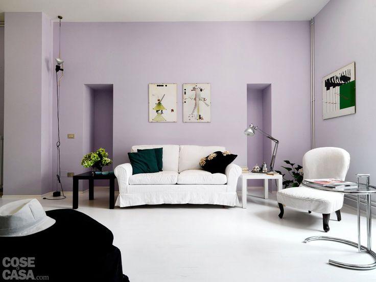 oltre 25 fantastiche idee su arredamento con divano nero su ... - Arredare In Bianco E Nero