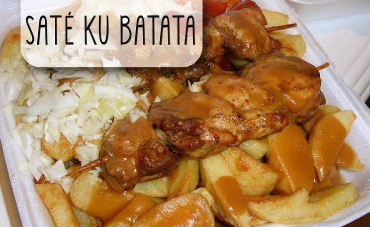 Saté ku Batata - Zonder twijfel hét meest gevraagde recept uit de Antilliaanse keuken. De sate ku batata kan in één woord worden omschreven: heimwee! Maak dit favoriete gerecht van de Antillianen nu zelf.Dit recep...