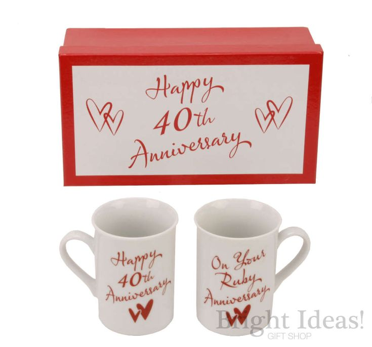 ideas for 40th wedding anniversary