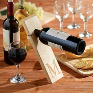 Gravity Wine Bottle Holder Plans - WoodWorking Projects & Plans
