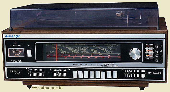 videoton RA-5320-A-SG Disco Star