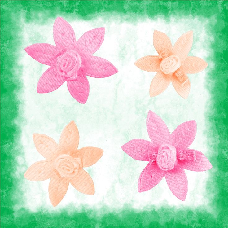 Today's freebie consists of four fabric flowers for digital scrapbooking and other printable crafts. There are two designs in peach and pink. You ca find these flowers in 34 other colours in…