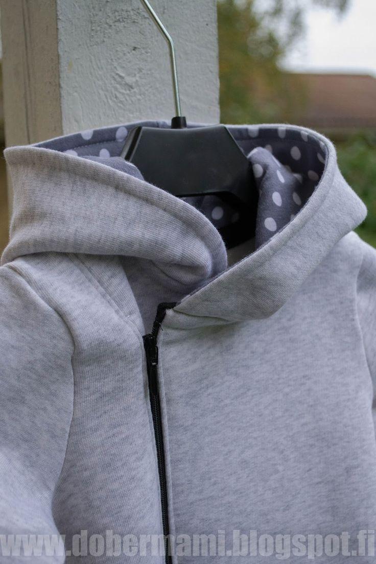 DoberMami: DIY vinovetoketjuhaalari (ohje kaavan kuositteluun ja ompeluun)