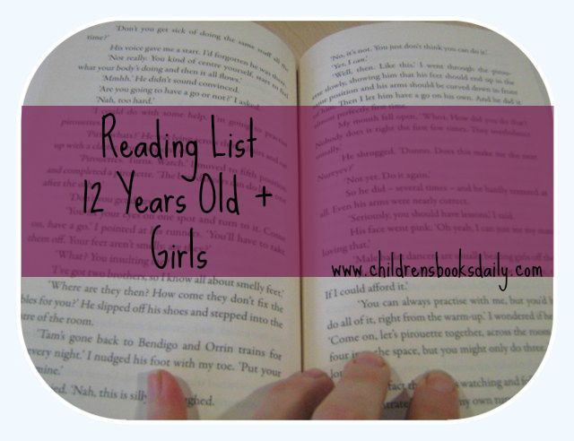 12 YO Reading List - there is a list for 12+ year old boys here too