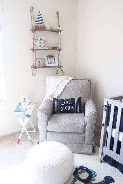 Keep Calm & Carry On | Nautical nursery