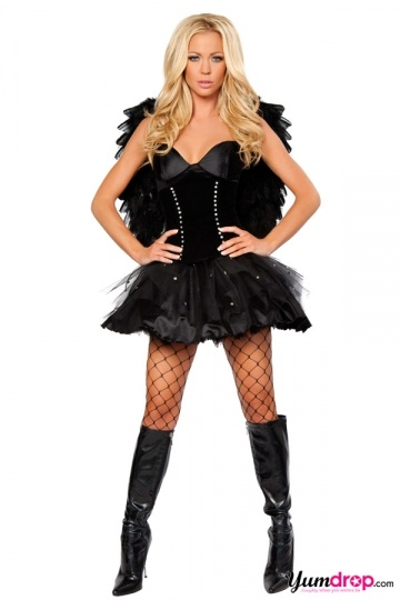Sexy Fallen Angel Costume. | Halloween Ideas | Pinterest ...