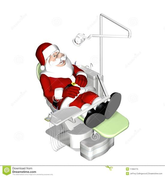 Dentaltown - Q: How do you know when Santa Claus is in the dental chair?  A: You can sense his presents.