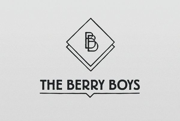 Animated Illustrations // THE BERRY BOYS  ----- Animated TV Show Logo Design for the Berry Boys animated documentary. Please Repin, or click this link to see more images from this project > http://www.flyingwhities.com/327652/4722715/-illustration/animated-illustrations-the-berry-boys