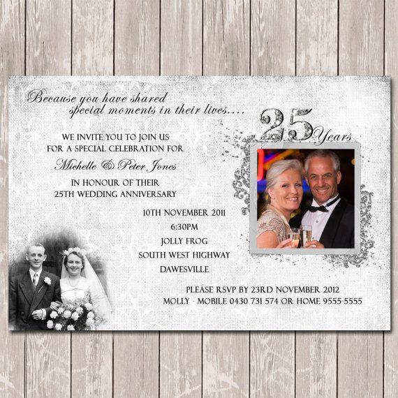 Best 25+ Anniversary invitations ideas on Pinterest 40 wedding - anniversary invitation template
