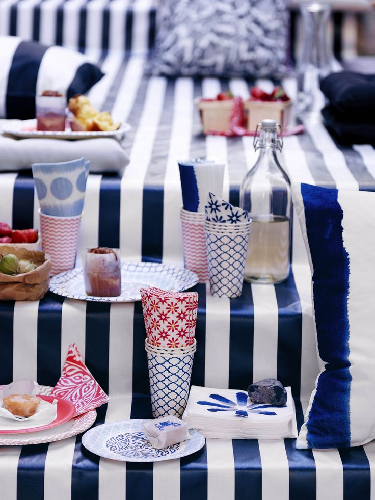 cool IKEA lanceert de SOMMAR 2016 collectie voor een zomerse  picknick