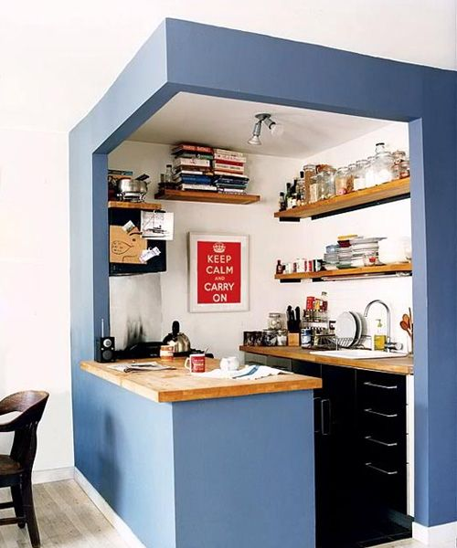 Las 25 mejores ideas sobre espacios peque os en pinterest for Cocinas empotradas modernas para espacios pequenos